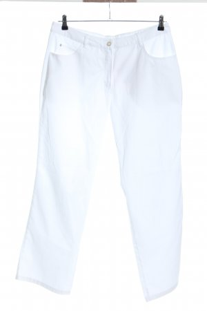 Job Style Pantalone cinque tasche bianco stile casual