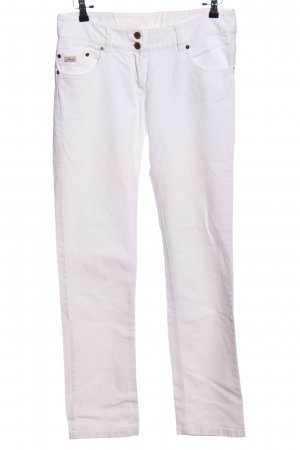 7days Pantalón de cinco bolsillos blanco look casual