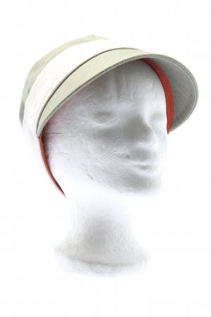 Flat Cap natural white-khaki athletic style