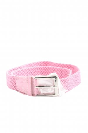 Braided Belt pink casual look