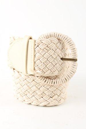 Braided Belt cream casual look