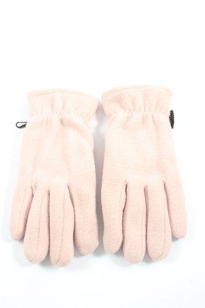 Gants polaires rose style décontracté