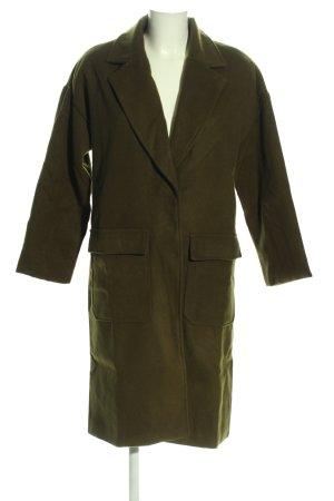 Płaszcz polarowy khaki W stylu casual