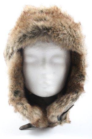 polar expo Chapeau d'aviateur brun style décontracté