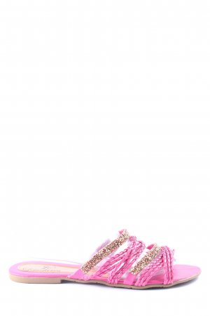 Beach Sandals pink casual look