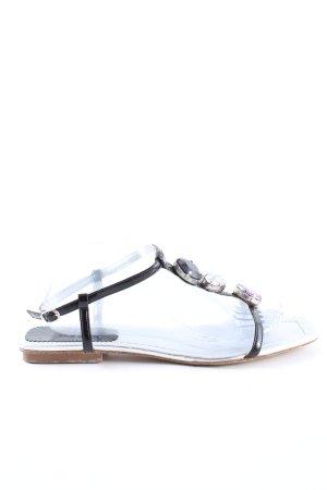 iXn Flip flop sandalen zwart casual uitstraling