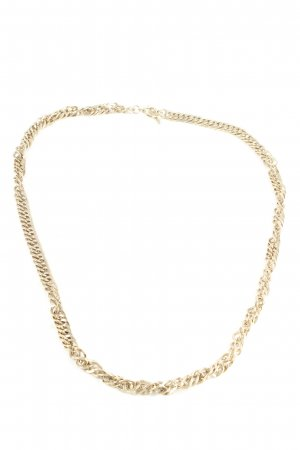 Link Chain gold-colored casual look