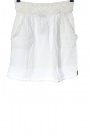 Blanc du Nil Klokrok wit casual uitstraling
