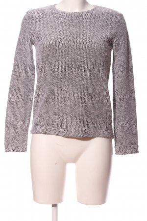 Coarse Knitted Sweater light grey casual look