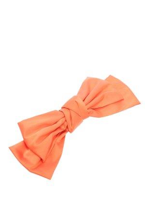 Maanesten Haarklem licht Oranje casual uitstraling