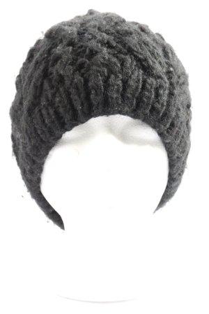 bloom copenhagen Bonnet en crochet brun torsades style décontracté