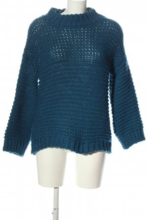 Gehaakte trui blauw casual uitstraling