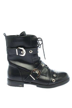 Halbstiefel schwarz Casual-Look