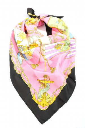 Neckerchief abstract pattern casual look