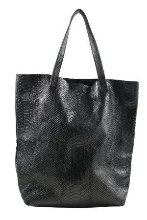 Monserat de lucca Handbag black animal pattern casual look