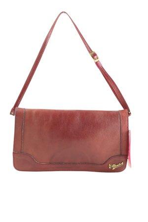 Handtasche rot-goldfarben Casual-Look