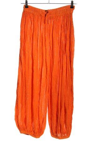 Sarouel orange clair style décontracté