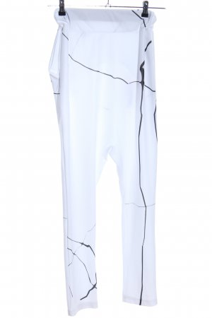 Harem Pants white-black casual look