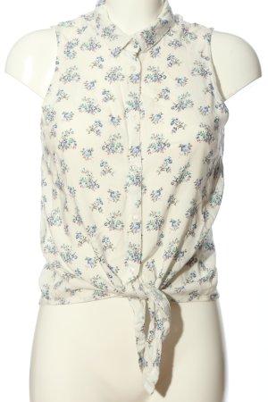 Hemd-Bluse Blumenmuster Casual-Look