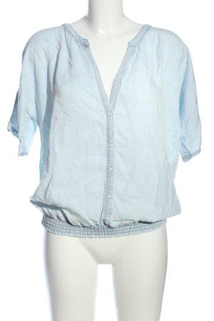 Hemd-Bluse blau Casual-Look