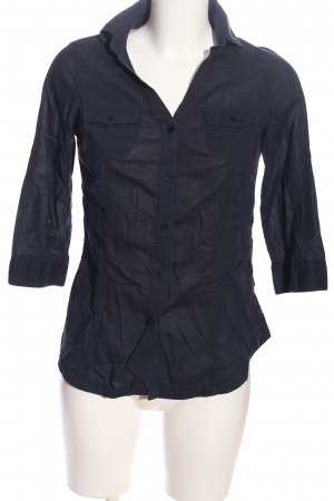 Gaudi Hemd-Bluse schwarz Business-Look