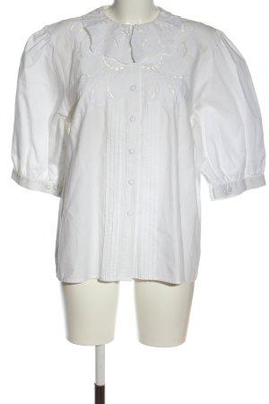 Boscha Hemdblouse wit elegant