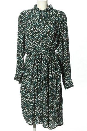 Koszulowa sukienka Abstrakcyjny wzór W stylu casual