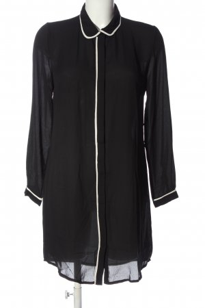 elliot paris Hemdblusenkleid schwarz-weiß Casual-Look