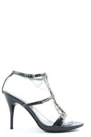 Wanda Bravi High Heel Sandaletten schwarz Elegant