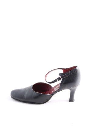 High Heel Sandaletten schwarz Casual-Look