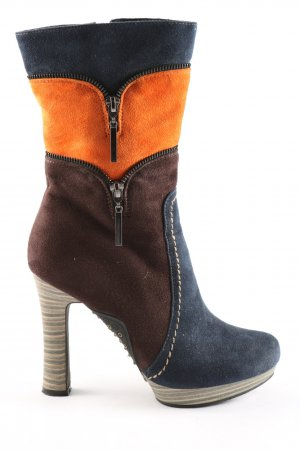 High Heel Boots multicolored casual look