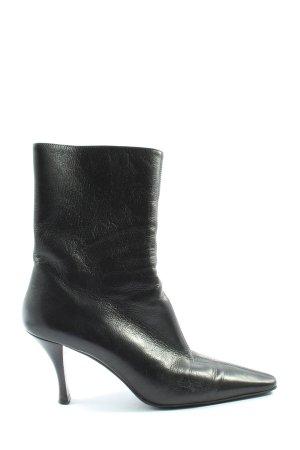 High Heel Boots black casual look
