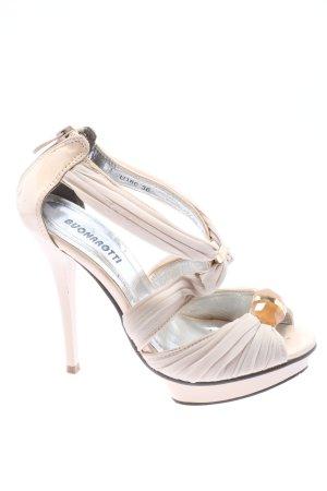 Buonarotti High Heels pink-goldfarben Casual-Look