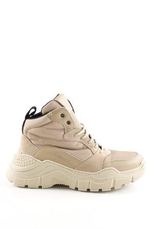 High Top Sneaker wollweiß Casual-Look