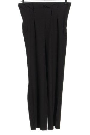 Julia Wieniawa x NA-KD Pantalon taille haute noir style décontracté