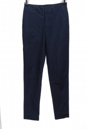 Piero High-Waist Hose blau Business-Look