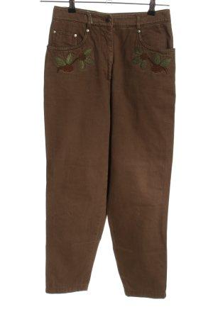 High Waist Jeans braun Casual-Look