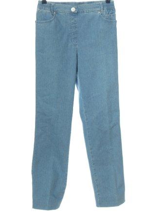 Walbusch High Waist Jeans blue casual look