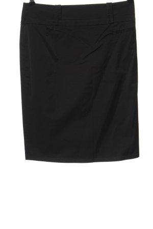 danex Falda de talle alto negro estilo «business»