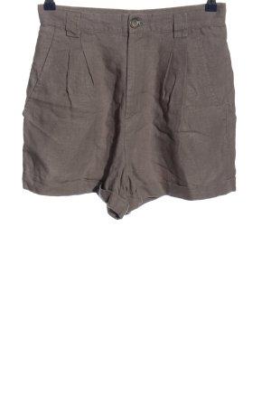 High-Waist-Shorts hellgrau Casual-Look