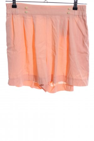 High-Waist-Shorts hellorange Casual-Look