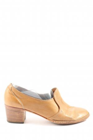 Lurio Loafers nude casual uitstraling