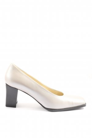 Vivalei Hochfront-Pumps creme Casual-Look