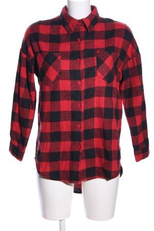 Lumberjack Shirt red-black allover print casual look