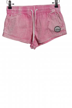 VonZipper Hot Pants pink casual look