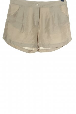 Hot pants bianco sporco stile casual