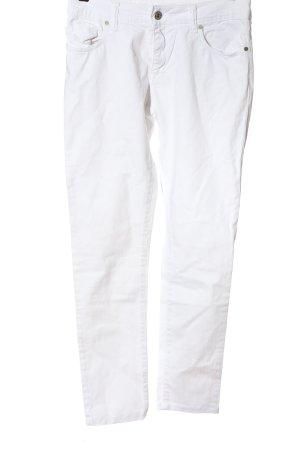 cardon pantalón de cintura baja blanco look casual