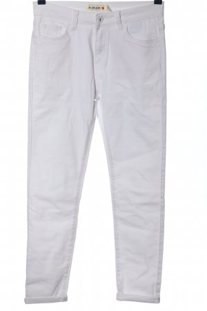 x-max Low Rise Jeans white casual look