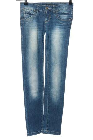 Pullit Jeans Hüftjeans blau Casual-Look