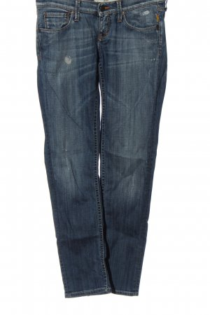 Meltin Pot Jeans vita bassa blu stile casual
